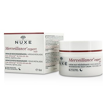 NuxeMerveillance Expert Regenerating Night Cream - For All Skin Types 50ml/1.5oz