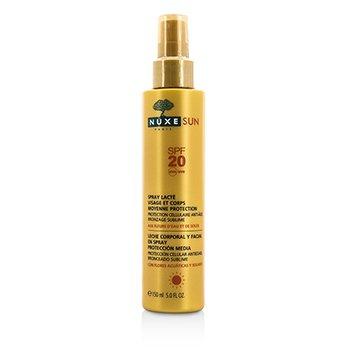Nuxe Nuxe Sun Milky Spray For Face & Body Medium Protection SPF 20  150ml/5oz