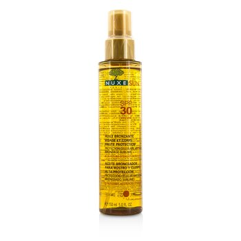 NuxeNuxe Sun Tanning Oil For Face & Body High Protection SPF 30 150ml/5oz