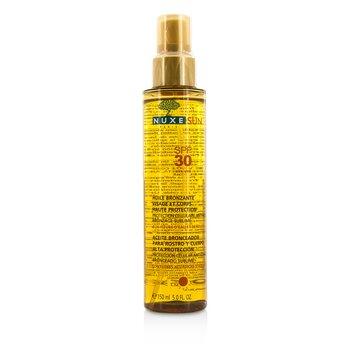 Nuxe Nuxe Sun Tanning Oil For Face & Body High Protection SPF 30 150ml/5oz