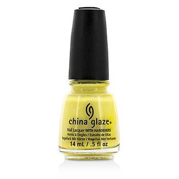 China Glaze Nail Lacquer – Lemon Fizz (871) 14ml/0.5oz