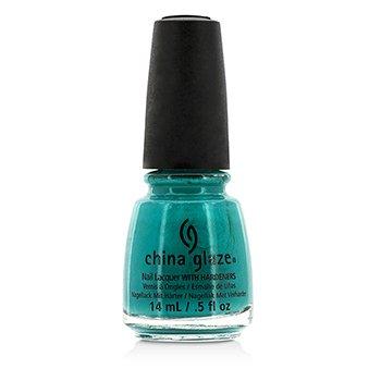 China Glaze Nail Lacquer – Turned Up Turquoise (1007) 14ml/0.5oz