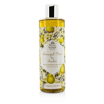 Woods Of WindsorHoneyed Pear & Amber Moisturising Bath & Shower Gel 350ml/11.8oz
