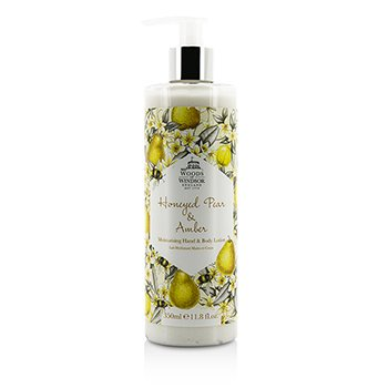 Woods Of WindsorHoneyed Pear & Amber Moisturising Hand & Body Lotion 350ml/11.8oz