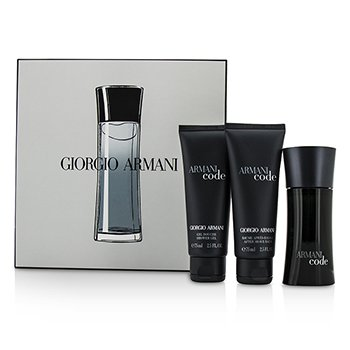 Giorgio ArmaniArmani Code Coffret: Eau De Toilette Spray 50ml/1.7oz + After Shave Balm 75ml/2.5oz + Shower Gel 75ml/2.5oz 3pcs