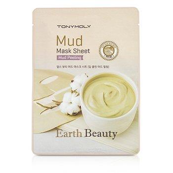 TonyMoly Earth Beauty Mask Sheet - Mud - Mud Peeling 5x15g/0.52oz