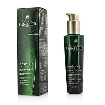 Rene Furterer Absolue Keratine Restoring Ritual Sublime Renewal Cream (Extremely Damaged  Brittle Hair) 100ml/3.3oz