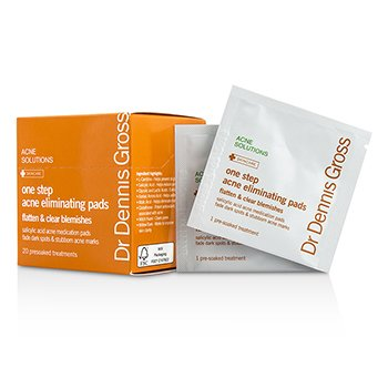 Dr Dennis Gross One Step Acne Eliminating Pads (Exp. Date 02/2016) 20 Treatments skincare