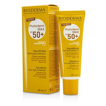 Bioderma Photoderm Max Very High Protection Aquafluid SPF50+ (For Sensitive Skin)  40ml/1.33oz