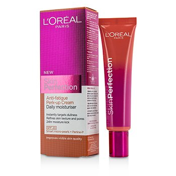 L'Oreal ���� Skin Perfection Anti-Fatigue Perk-Up Cream Daily Moisturiser SPF 20  35ml/1.18oz