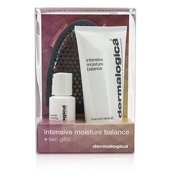 Dermalogica Intensive Moisture Balance Set Edici�n Limitada: Intensive Moisture Balance 100ml + Essential Cleansing Soluci�n 30ml + Guante Limpiador Facial  3pcs