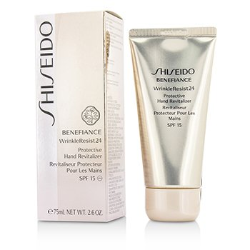 Shiseido Benefiance WrinkleResist24 Protective Hand Revitalizer SPF 15 75ml/2.6oz