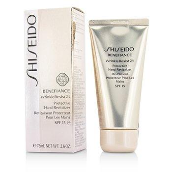 ShiseidoBenefiance WrinkleResist24 Protective Hand Revitalizer SPF 15 75ml/2.6oz
