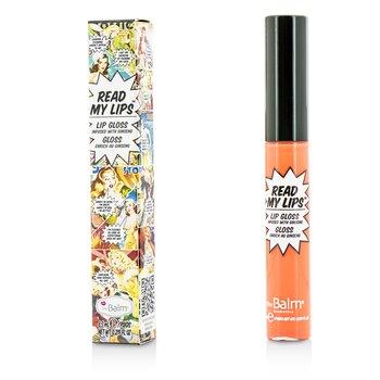 Купить Read My Lips (Блеск для Губ с Женьшенем) - #Pop! 6.5ml/0.219oz, TheBalm