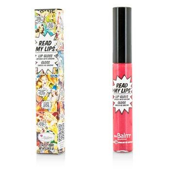Купить Read My Lips (Блеск для Губ с Женьшенем) - #Pow! 6.5ml/0.219oz, TheBalm