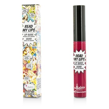 Read My Lips (Блеск для Губ с Женьшенем) - #Hubba Hubba! 6.5ml/0.219oz, TheBalm  - Купить