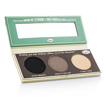 TheBalm Smoke Balm Smokey Eye Palette (3x Eyeshadow): Blaze/ Spark/ Flame 10.2g/0.36oz