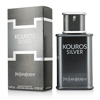 Yves Saint Laurent Kouros Silver Eau De Toilette Spray  50ml/1.7oz