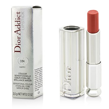 Christian DiorDior Addict Hydra Gel Core Mirror Shine Lipstick - #334 Happy 3.5g/0.12oz