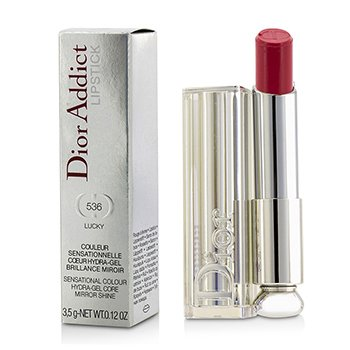Christian Dior 3.5g/0.12oz Dior Addict Hydra Gel Core Mirror Shine Lipstick - #536 Lucky 3.5g/0.12oz