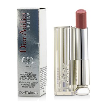 Christian Dior Dior Addict Hydra Gel Core Mirror Shine Lipstick - #553 Smile  3.5g/0.12oz