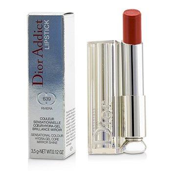 Christian Dior Dior Addict Hydra Gel Core Mirror Shine Color Labios - #639 Riviera  3.5g/0.12oz