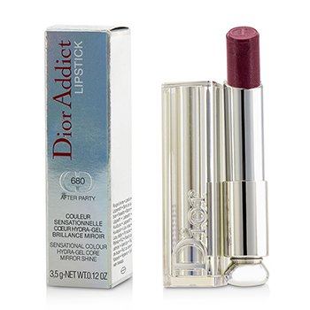 Christian Dior Dior Addict Hydra Gel Core Mirror Shine Lipstick - #680 After Party  3.5g/0.12oz