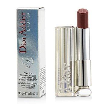 Christian Dior Dior Addict Hydra Gel Core Mirror Shine Lipstick - #722 True  3.5g/0.12oz