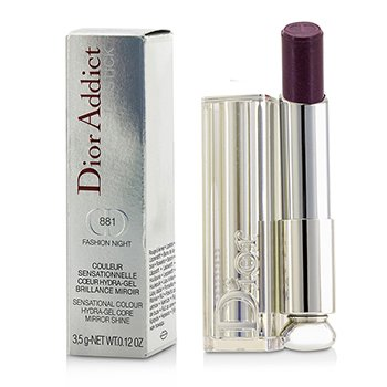 Christian DiorDior Addict Hydra Gel Core Mirror Shine Lipstick - #881 Fashion Night 3.5g/0.12oz