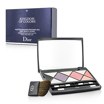 Christian DiorKingdom Of Colors Face Eyes Lips Palette (Limited Edition) - # 001 11g/0.38oz