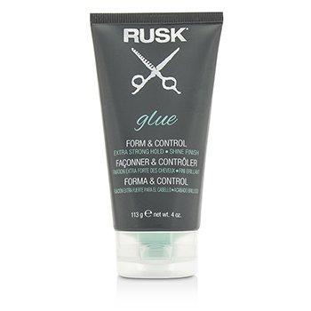 RuskGlue Form & Control (Extra Strong Hold, Shine Finish) 113g/4oz