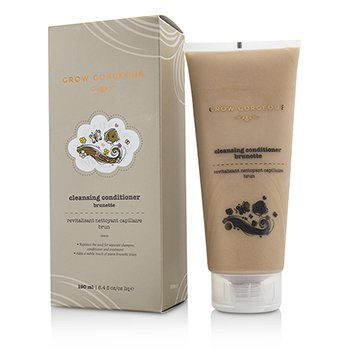 Grow Gorgeous Cleansing Conditioner Brunette 190ml/6oz