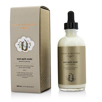Grow Gorgeous End Split Ends Leave-In Serum 120ml/4oz