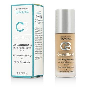 Купить CoverBlend Skin Caring Foundation SPF20 - # Honey Sand 30ml/1oz, Exuviance