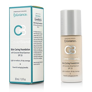 Exuviance CoverBlend Skin Caring Foundation SPF20 - # Bisque  30ml/1oz