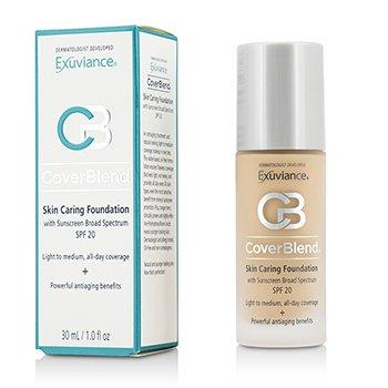 Exuviance CoverBlend Skin Caring Foundation SPF20 – # True Beige 30ml/1oz
