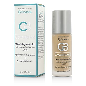 Купить CoverBlend Skin Caring Foundation SPF20 - # Warm Beige 30ml/1oz, Exuviance
