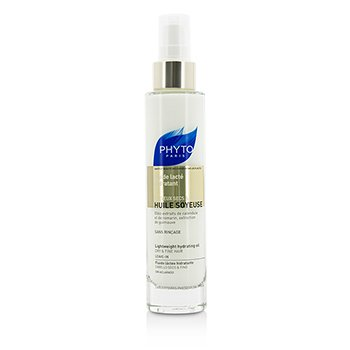 Phyto Phyto Huile Soyeuse Lightweight Hydrating Oil - Leave In (For Dry & Fine Hair)  100ml/3.4oz