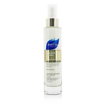 PhytoPhyto Huile Soyeuse Lightweight Hydrating Oil - Leave In (For Dry & Fine Hair) 100ml/3.4oz