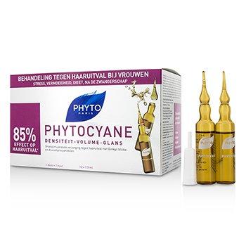 PhytoPhytocyane Growth Stimulating Anti-Thinning Hair Treatment (For Thinning Hair - Women) 12x7.5ml/0.25oz