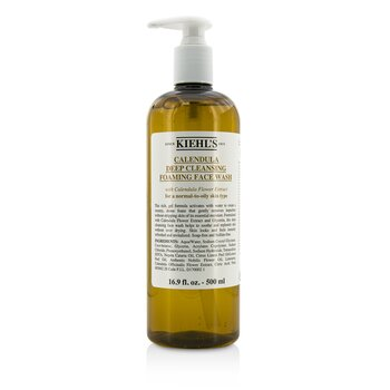 Kiehl'sCalendula Deep Cleansing Foaming Face Wash 500ml/16.9oz