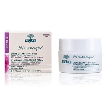 NuxeNirvanesque 1st Wrinkles Smoothing Cream - For Normal Skin (Exp. Date 04/2016) 50ml/1.5oz