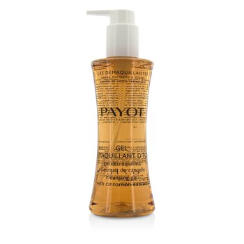 PayotLes Demaquillantes Gel Demaquillant D'Tox Cleansing Gel With Cinnamon Extract - Normal To Combination Skin 200ml/6.7oz
