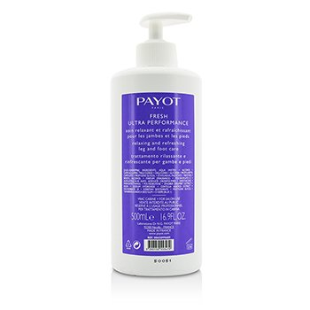 PayotLe Corps Fresh Ultra Performance Relaxing Refreshing Leg Foot Care Salon Size 500ml 16.9oz