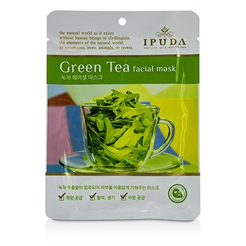 IPUDA Facial Mask - Green Tea 10x25ml