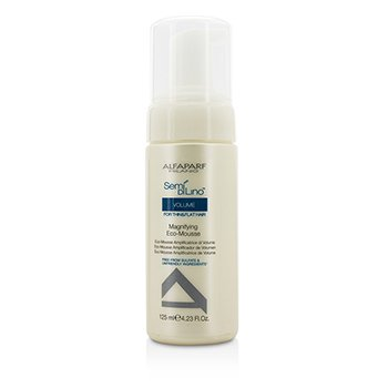 AlfaParf Semi Di Lino Volume Magnifying Eco-Mousse (For Thin & Flat Hair)  125ml/4.23oz