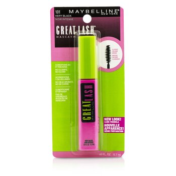 Maybelline Great Lash Mascara with Classic Volume Brush – #101 Very Black 12.7ml/0.43oz
