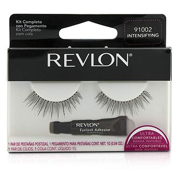 Revlon False Eyelashs (Adhesive Included) - Intensifying