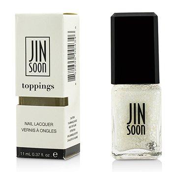 JINsoon 指甲油(Toppings) - #Polka White 11ml/0.37oz