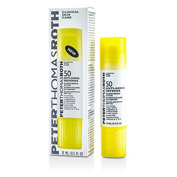 Peter Thomas RothAnti-Aging Defense Sunscreen Stick SPF 50 (Exp. Date 05/2016) 15ml/0.5oz